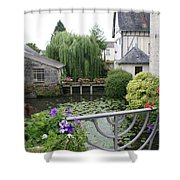 French Village Shower Curtain