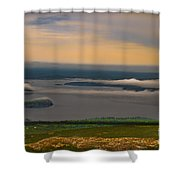 Frenchman Bay And The Porcupine Islands Shower Curtain