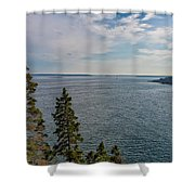 Frenchman Bay Shower Curtain