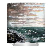 Frenchman's Bay Shower Curtain