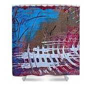 Frequency Static Shower Curtain