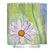 Fresh As A Daisy 1. Shower Curtain