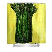 Fresh Asparagus Shower Curtain
