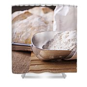 Fresh Bread Shower Curtain