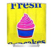 Fresh Cupcakes Shower Curtain