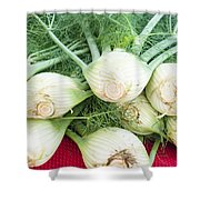 Fresh Fennel At The Market Shower Curtain
