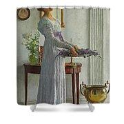 Fresh Lavender Shower Curtain