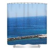 Fresh Mistral Wind Shower Curtain