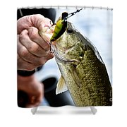 Fresh On The Hook Shower Curtain
