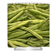 Fresh Picked Beans Shower Curtain