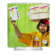 Fresh Popcorn Shower Curtain