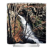 Fresh Water Streams Around Poconos Pa America Usa  Shower Curtain