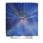 Fresnel Ice Drop Shower Curtain