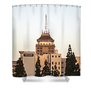 Fresno Security Bank Building Shower Curtain