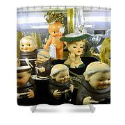 Friars And Ladies Shower Curtain