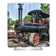 Frick Steam Tractor Shower Curtain
