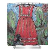Frida Homage II Shower Curtain