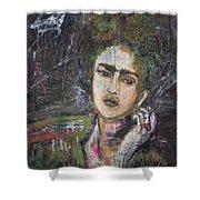 Frida Y Cigarrillos Shower Curtain