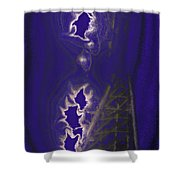 Friday Night Lights Shower Curtain