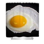 Fried Egg Shower Curtain