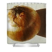 Fried Onion Flavour  Shower Curtain