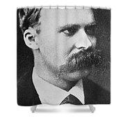 Friedrich Wilhelm Nietzsche Shower Curtain