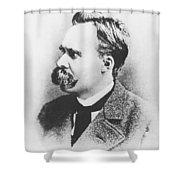 Friedrich Wilhelm Nietzsche In 1883 Shower Curtain