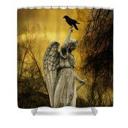 Friend Of An Angel Shower Curtain