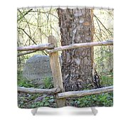 Friend Of Nature Shower Curtain