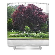 Friendly Green Gardens Of Cherryhill Nj America       Shower Curtain