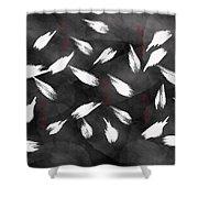 Friendship Digital Painting Shower Curtain