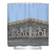 Frieze - Capitol - Washington Dc Shower Curtain