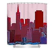 Frisco Skyline Shower Curtain