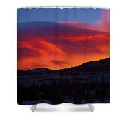 Frisco Sunrise Shower Curtain