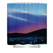 Frisco Twilight Shower Curtain