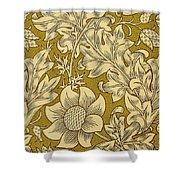 Fritillary Design 1885 Shower Curtain