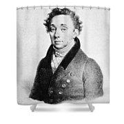 Fritz Demmer Shower Curtain