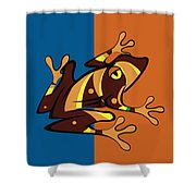 Frog 01 Shower Curtain