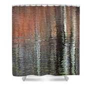 Frog In Paradise Shower Curtain