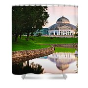 Frog Pond Shower Curtain