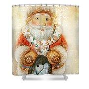 frohe Weihnachten Shower Curtain