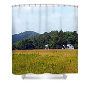 From A Distance Shower Curtain