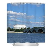 From Across The River Shower Curtain