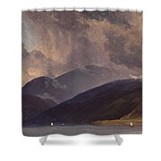 From Balestrand At The Sognefjord Shower Curtain