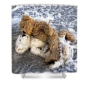 From Bear To Eternity - By William Patrick And Sharon Cummings Shower Curtain