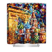 From Moscow To Paris Shower Curtain