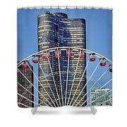 From Navy Pier Shower Curtain