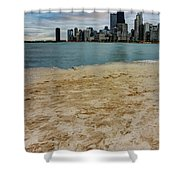 From North Avenue Beach Shower Curtain