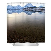 From Pebbles To Mountains Shower Curtain