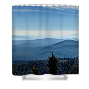 From The Rim Shower Curtain